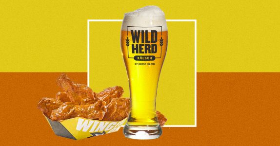 Buffalo Wild Wings Partners with Goose Island for House Beer 'Wild Herd Kölsch'