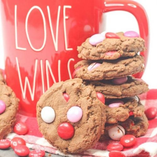 M&M Valentine Cookie Recipe