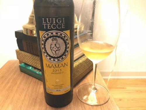 Luigi Tecce's macerated Maman Bianco, the first white to emerge from the iconic grower