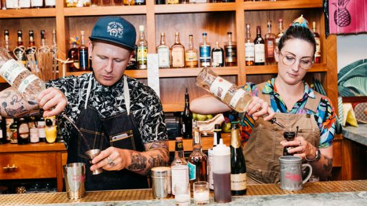 Trash Tiki Is Bringing Eco-Punk Parties and Sustainable Spirits to Permanent Digs