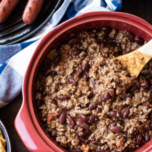 Simple Beef Chili