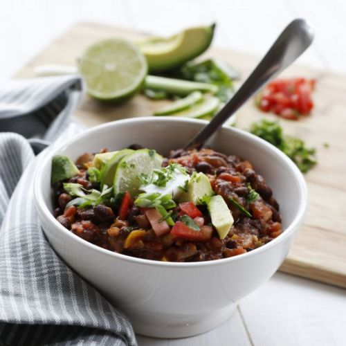 Quick & Easy Black Bean Chili