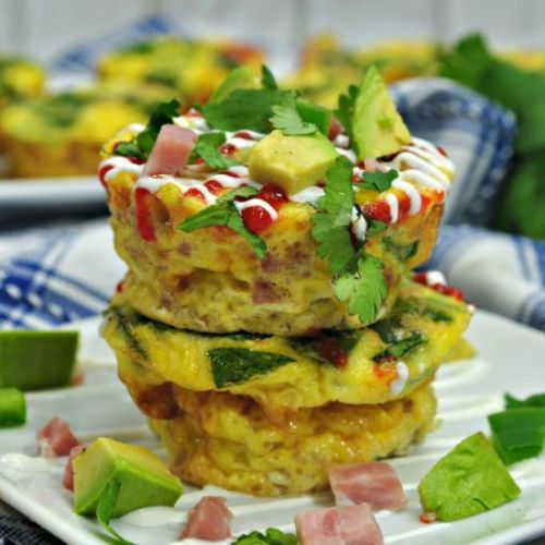 Low Carb Southwest Egg Muffins