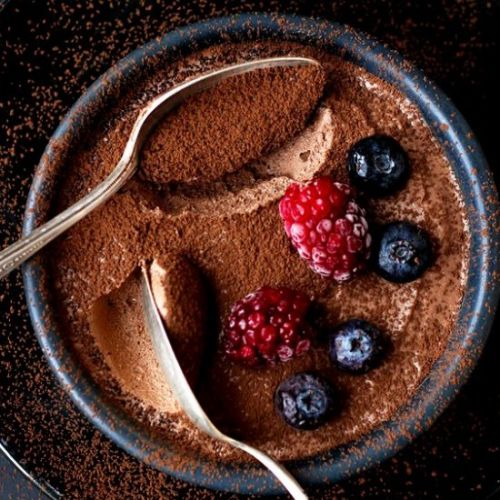 Easy mousse au chocolate