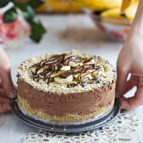 Chocolate Banana Cheesecake