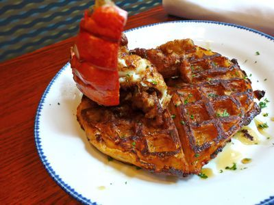Red Lobster's Fried Lobster and Waffles Are a Waste of Good Crustacean