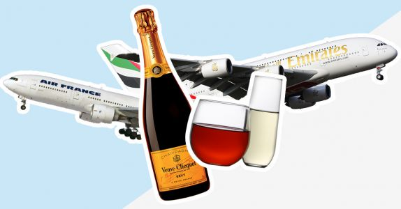 Is There Science Behind the Claim That Wine Tastes Differently at 35,000 Feet?