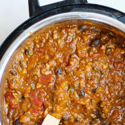 Vegetarian Pumpkin Black Bean Chili