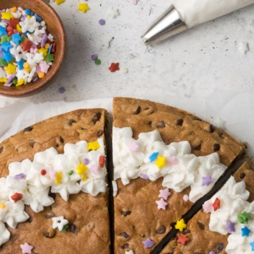 Gluten Free Choc Chip Cookie Cake