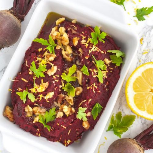 Walnuts and Beetroot Hummus
