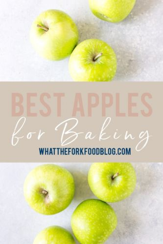 What Are the Best Apples for Baking?