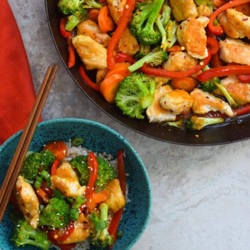 Easy Spicy Chicken Stir Fry