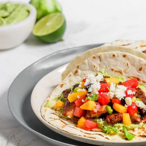 Fish Tacos with Watermelon Salsa