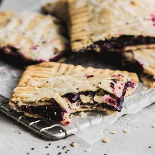 Gluten Free Blueberry Slab Pie