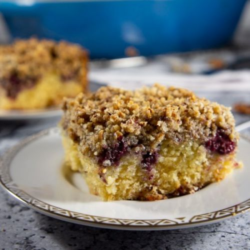 Pecan Blackberry Coffee Cake