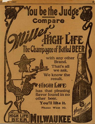 The Surprisingly Legit Reasons Miller High Life Is Called the Champagne of Beers