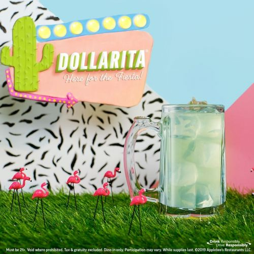 The Cocktail That Started the $1 Drink Craze - the DOLLARITA - Returns to Applebee's