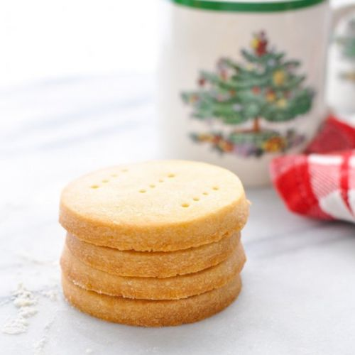 3-Ingredient Shortbread Cookies
