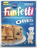 Pillsbury's New Line of Funfetti Oreo Products Includes Pancake Mix Packed With Oreo Pieces