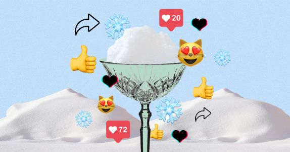 Snow Cocktails Are the Winter Sensation We All Need Right Now
