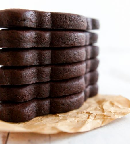 Black Cocoa Chocolate Cut-Out Cookies