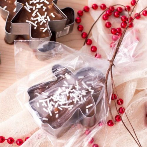 COOKIE CUTTER CHRISTMAS FUDGE