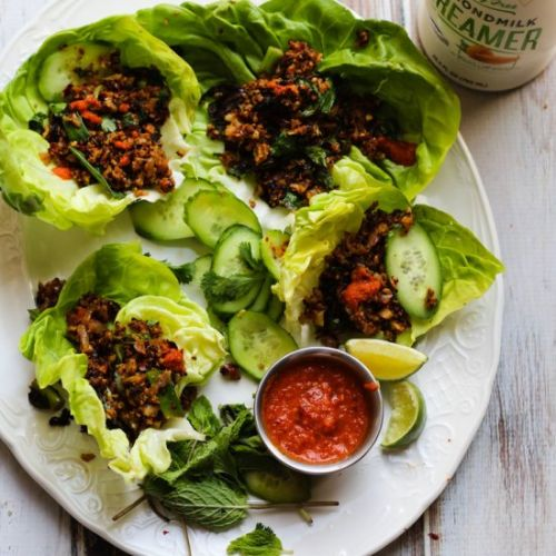 Vegan Cauliflower Larb