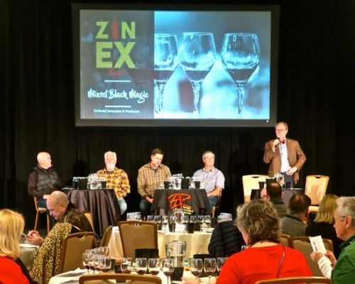 "At ZAP's 2019 ""Flights!"": The question of blending vs. 100% varietal Zinfandels"