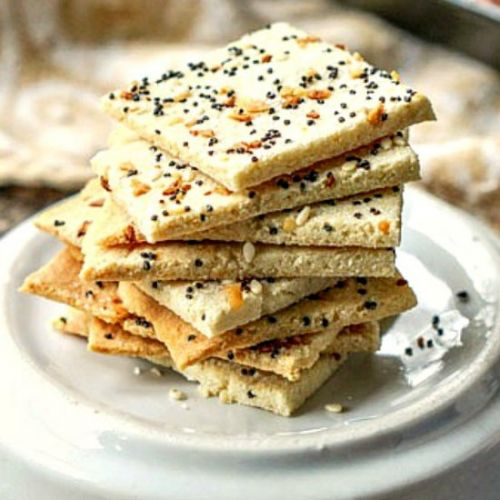 Low Carb Everything Crackers