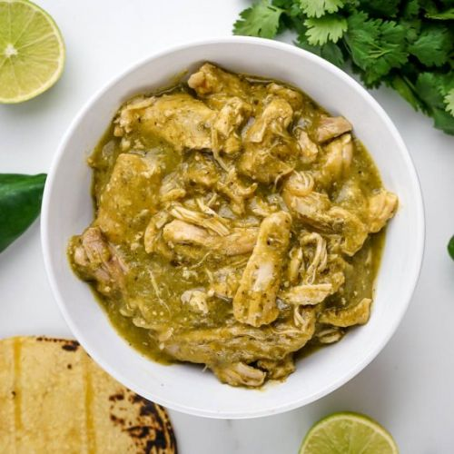 Authentic Chile Verde