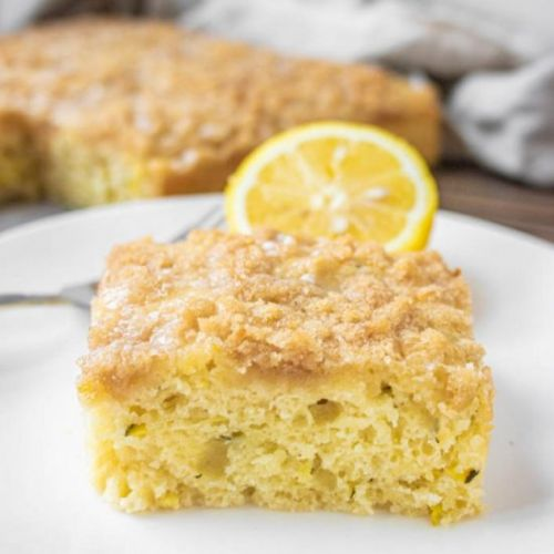 Lemon Zucchini Coffee Cake