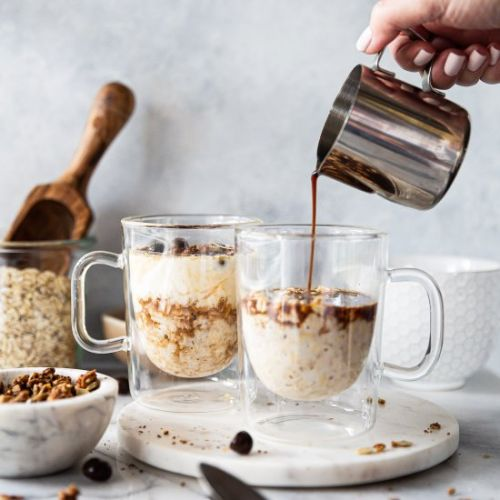 Vanilla Latte Overnight Oats