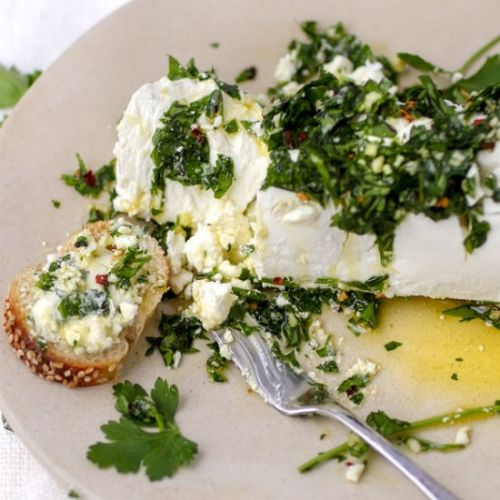 My Favorite Goat Cheese Appetizer