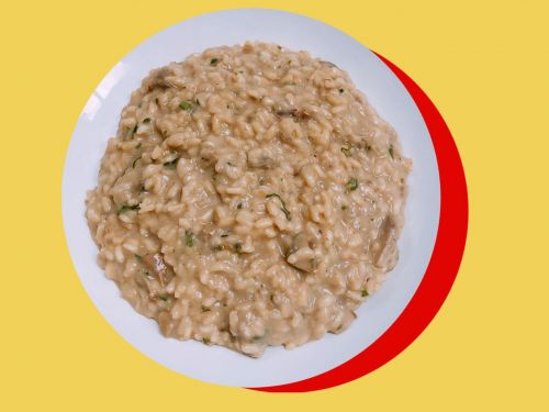 A Recipe for Porcini Risotto That's Perfect for Any Night of the Week