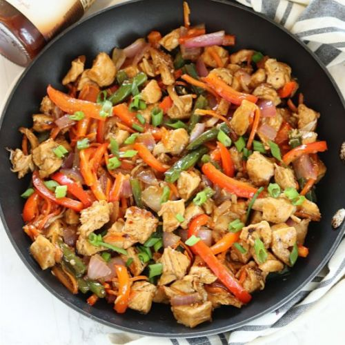 Grilled Mongolian Chicken