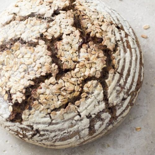Hearty Whole Wheat Walnut Bread