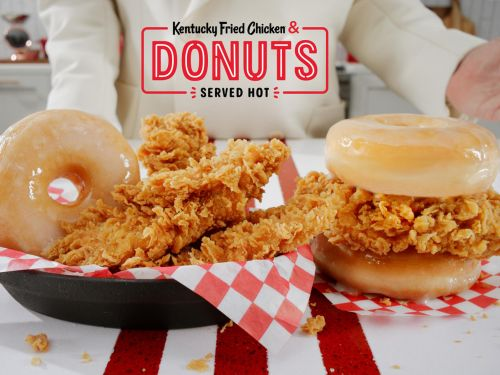 Congrats, Heathens: KFC Will Soon Serve Fried Chicken Between Two Glazed Donuts
