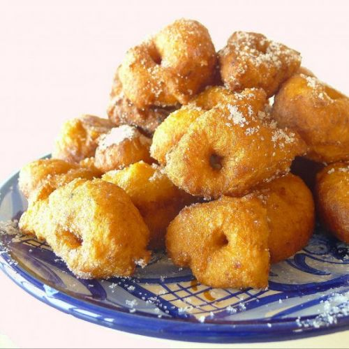Fried Pumpkin Puffs