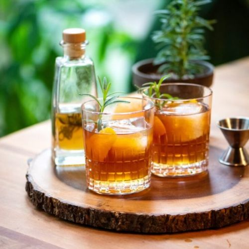 Rosemary & Honey Whiskey Cocktail