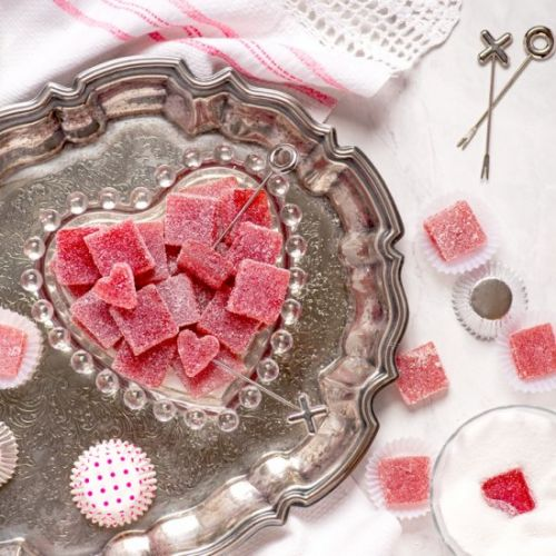 Strawberry Pate de Fruit