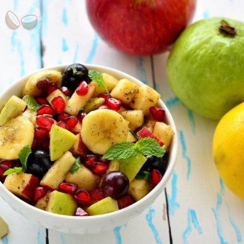 How to make Fruit Chaat Recipe