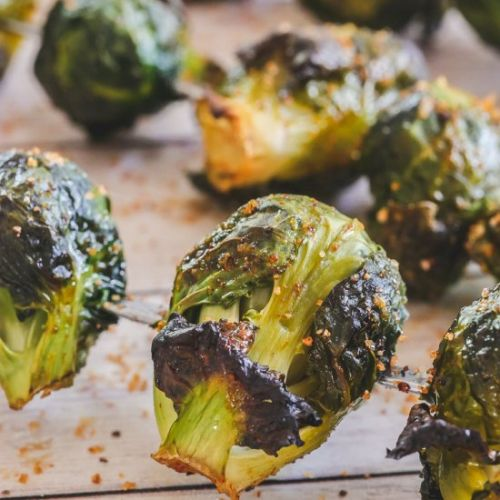 Perfect Roasted Brussel Sprouts