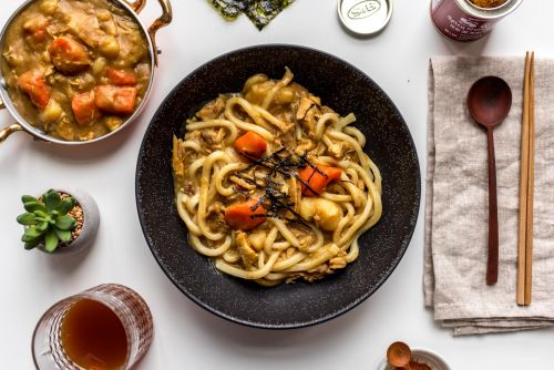 Turkey Curry Udon Recipe