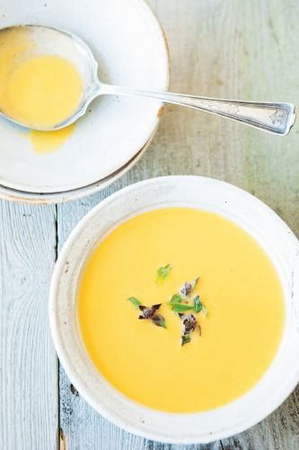 Coconut-Curry Butternut Squash Soup