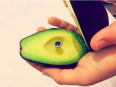 Of Course Millennials Are Proposing With Avocados