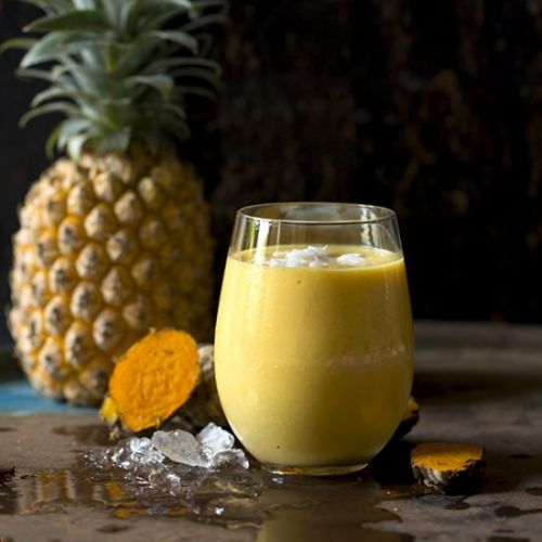 Tropical Turmeric and Coconut Lassi