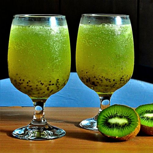 Kiwi cooler | kiwi lemonade