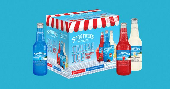 New Seagram's Escapes Italian Ice Variety Pack is Here, Just in Time for Spring