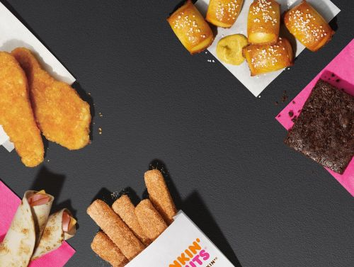 Introducing The Dunkin' Run: Dunkin's New Menu of Irresistible Snacks Perfect Any Time of Day