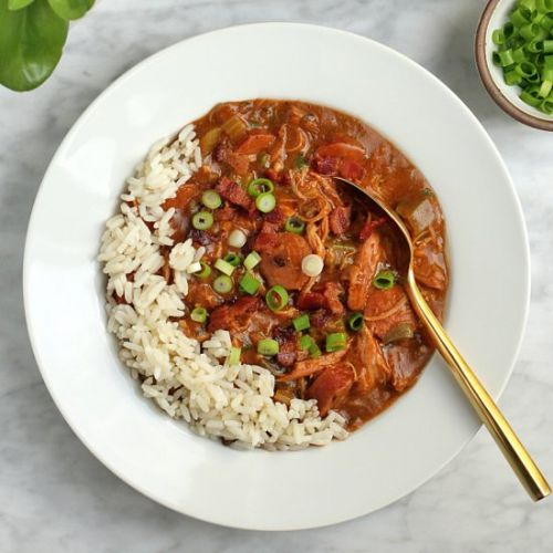 Chicken Gumbo with Andouille